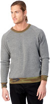 Alternative Champ Printed Camo Rib Eco-Fleece Sweatshirt