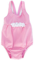 Il Gufo floral appliquéd swimsuit - kids - Polyamide/Spandex/Elastane - 6 mth