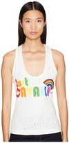 Just Cavalli Rainbow Tank Top Women's Sleeveless
