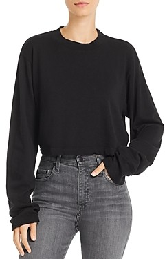 Cotton Citizen Tokyo Long-Sleeve Cropped Tee