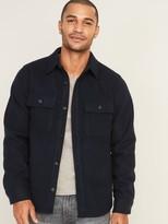 Old Navy Soft-Brushed Shirt-Jacket for Men