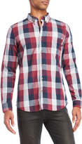 Timberland Check Button-Down Shirt