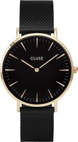 Cluse Women's La Boheme Mesh CL18117 Gold Stainless-Steel Quartz Watch