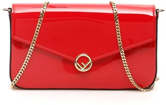 Fendi Fold-Over Shoulder Bag