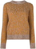 Christian Wijnants leopard pattern jumper