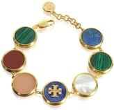 Tory Burch Multicolor Semi-precious Stone Bracelet