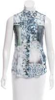 Maison Margiela Printed Sleeveless Top w/ Tags