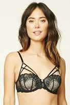 Forever 21 FOREVER 21+ Caged Lace Bra