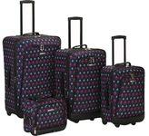 Rockland 4 Piece Luggage Set F109