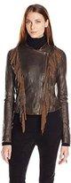 Levi's Women's Vintage Leather Fringe Jacket