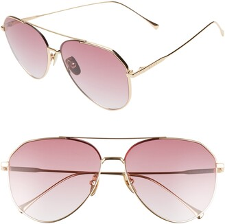 DIFF Dash 61mm Aviator Sunglasses