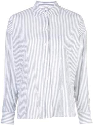 Vince tailored pinstripe shirt