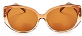 Corinne McCormack Liz Oversized Square Reader Sunglasses, 60mm