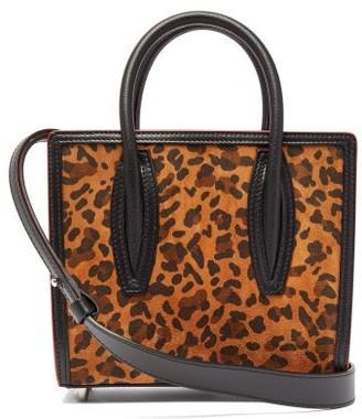 Christian Louboutin Paloma Leopard-print Suede Tote Bag - Leopard
