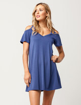 Socialite Cold Shoulder Cutout Dress