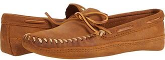 Minnetonka Double Bottom Softsole (Brown Ruff) Men's Shoes