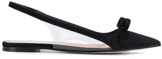 RED Valentino RED(V) Sandi court shoe