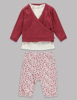 Marks and Spencer 3 Piece Cardigan Outfit with Modal
