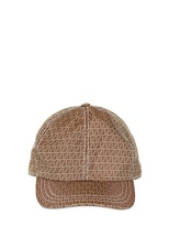 Fendi Logo Basketball Cap
