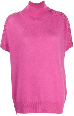 Ermanno Scervino Lace Panel Top