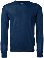 Comme des Garcons crew neck sweater - men - Cotton/Acrylic/Polyamide - S