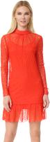 McQ by Alexander McQueen Alexander McQueen Lace Long Sleeve Dress