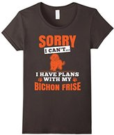 I Have Plans With My Bichon Frise T-Shirt