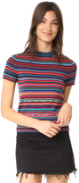 Paul Smith Multistripe Short Sleeve Sweater