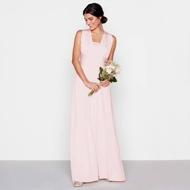 Debut - Light Pink Multiway Maxi Dress