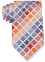 Geoffrey Beene Men's Tone Geometric Tie