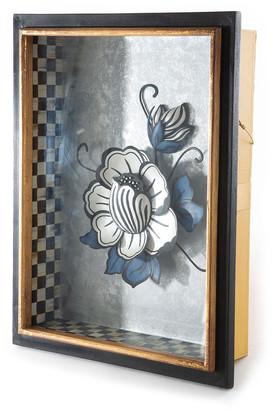 Mackenzie Childs Avant-Garden Lotus Shadow Box
