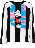 Marc Jacobs Striped Panel Sweatshirt
