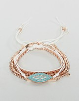 Aldo Rose Gold Stacking Bracelets