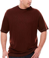 Van Heusen Short-Sleeve Two-Tone Tee - Big & Tall