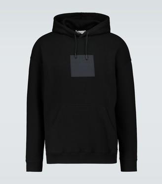 Givenchy Square logo hooded sweatshirt