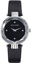 Pierre Cardin Women's 32mm Leather Band Steel Case Quartz Watch Pc107902f01