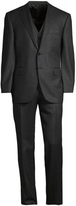 Canali 3-Piece Wool Suit
