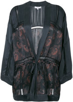 IRO paisley panel kimono jacket - women - Silk/Polyamide - 34