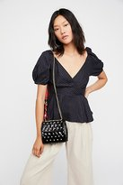 Free People Monaco Patent Crossbody