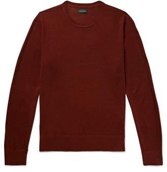 Club Monaco Lux Merino Wool, Cashmere And Silk-Blend Sweater