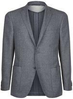 Corneliani Virgin Wool Basket Weave Jacket