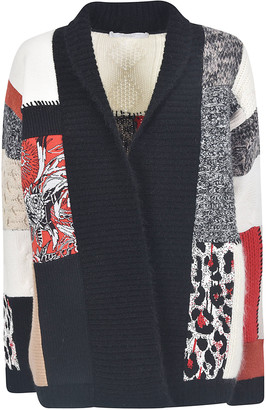 Saverio Palatella Patchwork Cardigan