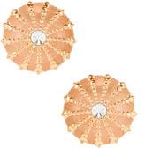 Ninon Patmos Sea Urchin Earrings in Gold | FWRD