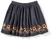 Girl's Peek Claire Embroidered Skirt