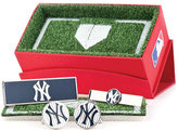 Cufflinks Inc. Men's Yankees Pinstripe 3-Piece Gift Set