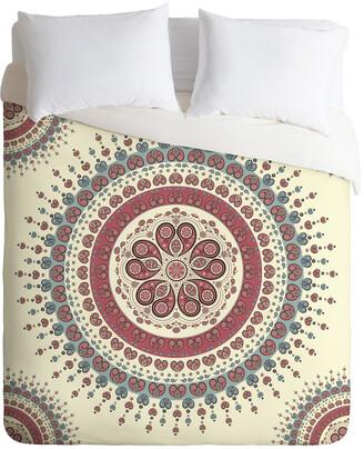 Deny Designs Belle13 Paisley Mandala Love Duvet Set