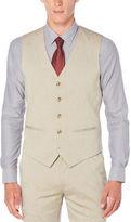 Perry Ellis Travel Luxe Heather Twill Suit Vest