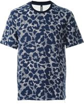 Neil Barrett graphic animal print T-shirt