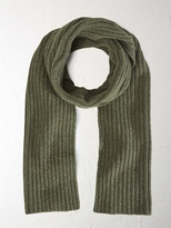 Ralph ribbed scarf