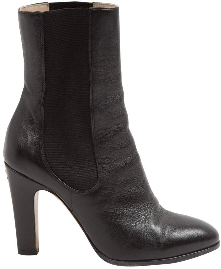 Chanel Leather ankle boots